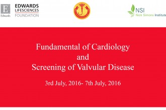 Fundamental of Cardiology and Screening of Valvular Disease-Workshop